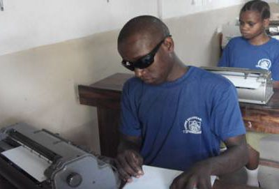 For the first time Visually impaired community in Tanzania to vote using Braille