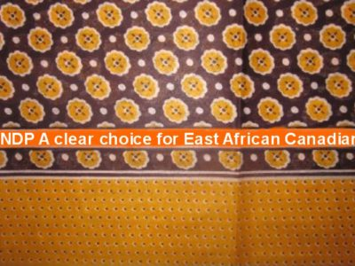 NDP team a clear choice for East African-Canadians