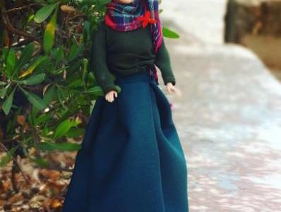 Barbie now wears a Hijab, at least on Instagram!
