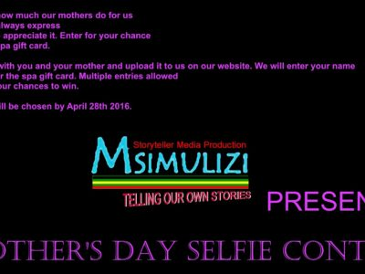 Mother's Day Selfie Contest