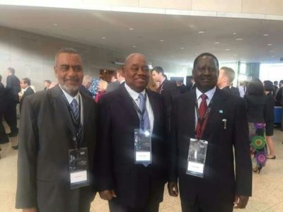 East African Opposition leaders witness History in the making at DNC