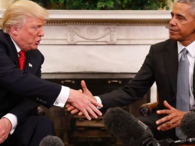 Lesson in Democracy: Obama meet President-elect Trump at the White House