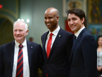 Ahmed Hussen appointment a 'Unique Cake Topper'on Canada's 150th Birthday Cake