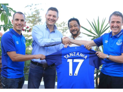 TOFFEES to be the first Premier League club to visit East Africa